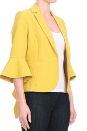 Ina Ruffle Detail Blazer - Product Mini Image