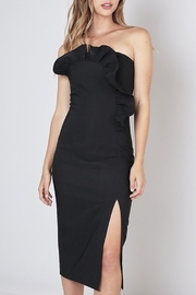 Do & Be Ruffle Detail Dress - Front cropped