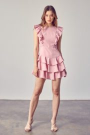Idem Ditto  Ruffle Detail Dress - Other