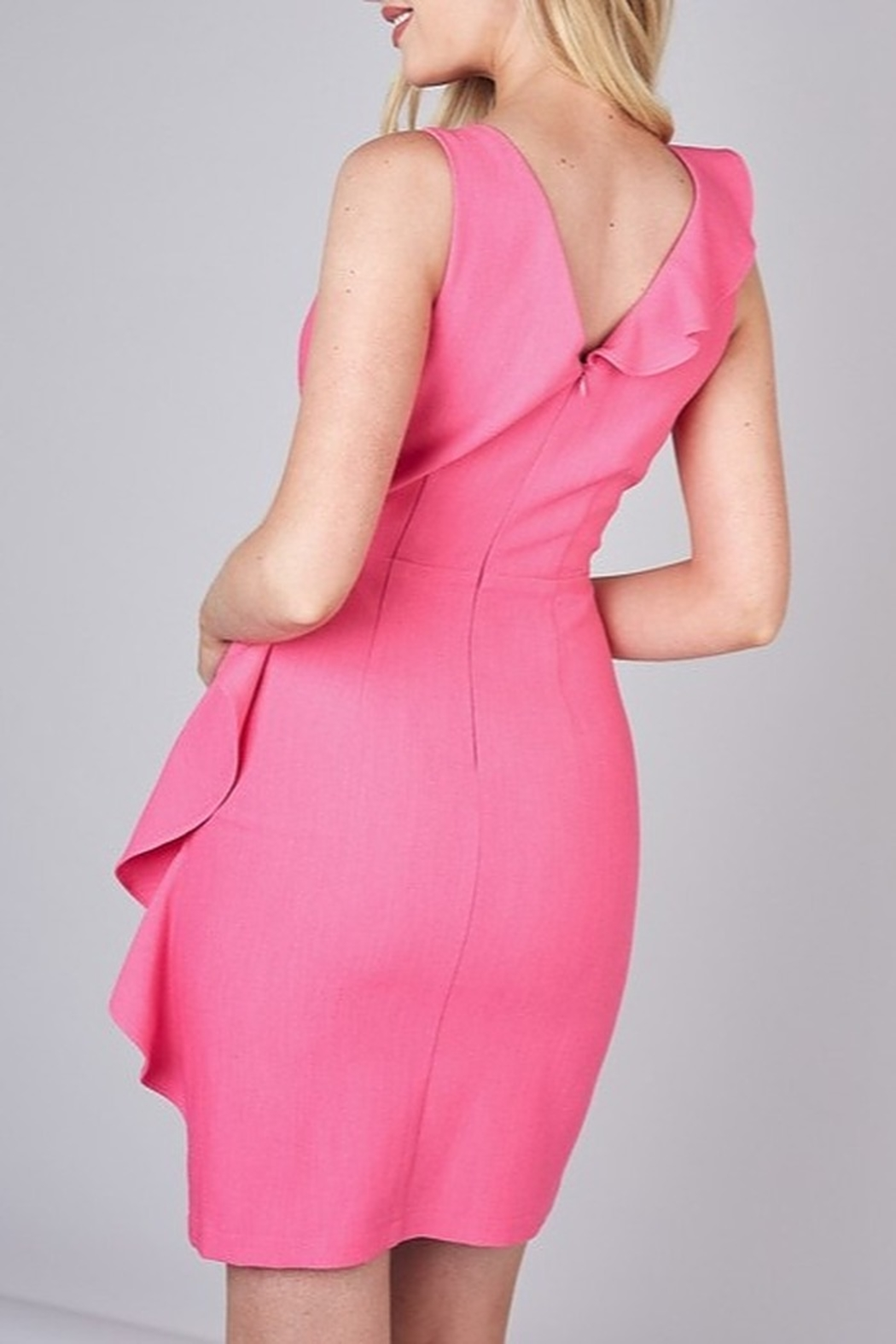 Do & Be Ruffle Detail Dress - Side Cropped Image