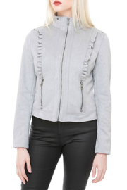 Coalition LA Ruffle detail jacket - Product Mini Image