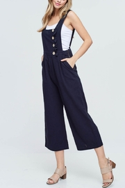 Lyn -Maree's Ruffle Detail Overalls - Product Mini Image
