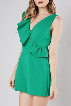 Do & Be Ruffle Detail Romper - Product List Image