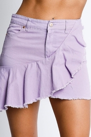 Rousseau Ruffle Detail Skirt - Product Mini Image
