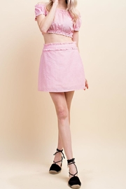 Wild Honey Ruffle Detail Skirt - Product Mini Image