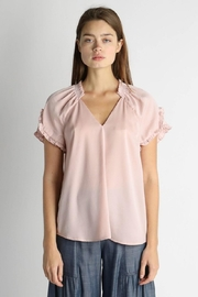 Current Air Ruffle Detail Top - Front cropped