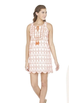 Joy Joy Ruffle Embroidered Dress - Product List Image