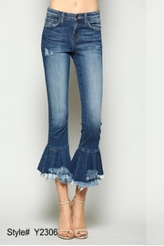 Flying Monkey Ruffle Flare Denim - Product Mini Image