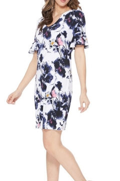 Aryeh Ruffle Floral Dress - Product List Image