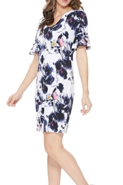 Aryeh Ruffle Floral Dress - Product Mini Image