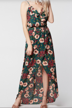 Shoptiques Product: Ruffle Floral Maxi Dress