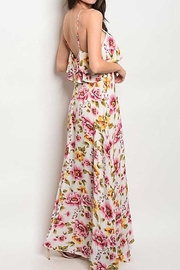 Compendium boutique Ruffle Floral Maxi - Front full body