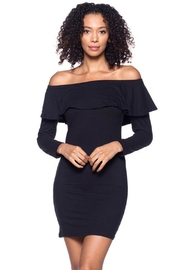 Capella Apparel Ruffle Flounce Dress - Front cropped