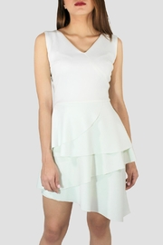 SoZu Ruffle Front Dress - Product Mini Image