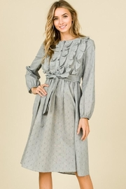 Hailey & Co Ruffle Front Dress - Product Mini Image