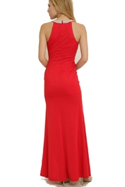 The Clothing Co Ruffle Front Longdress - Side cropped