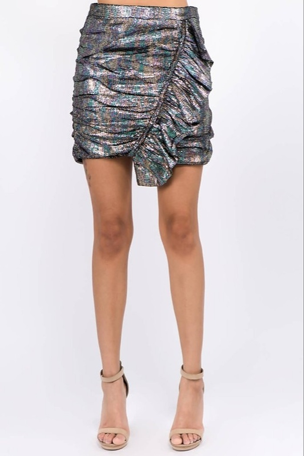 Ontwelfth Ruffle Front Skirt - Main Image