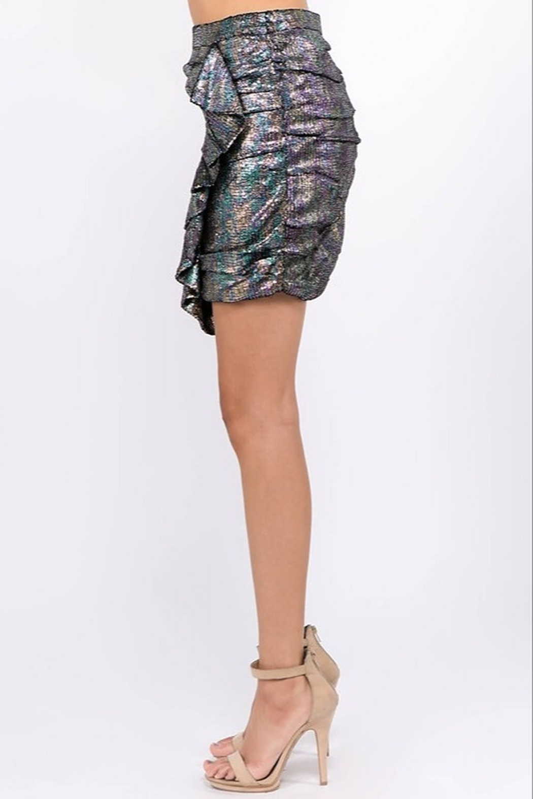 Ontwelfth Ruffle Front Skirt - Front Full Image