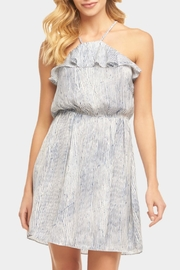 Tart Collections Ruffle Halter Dress - Front cropped