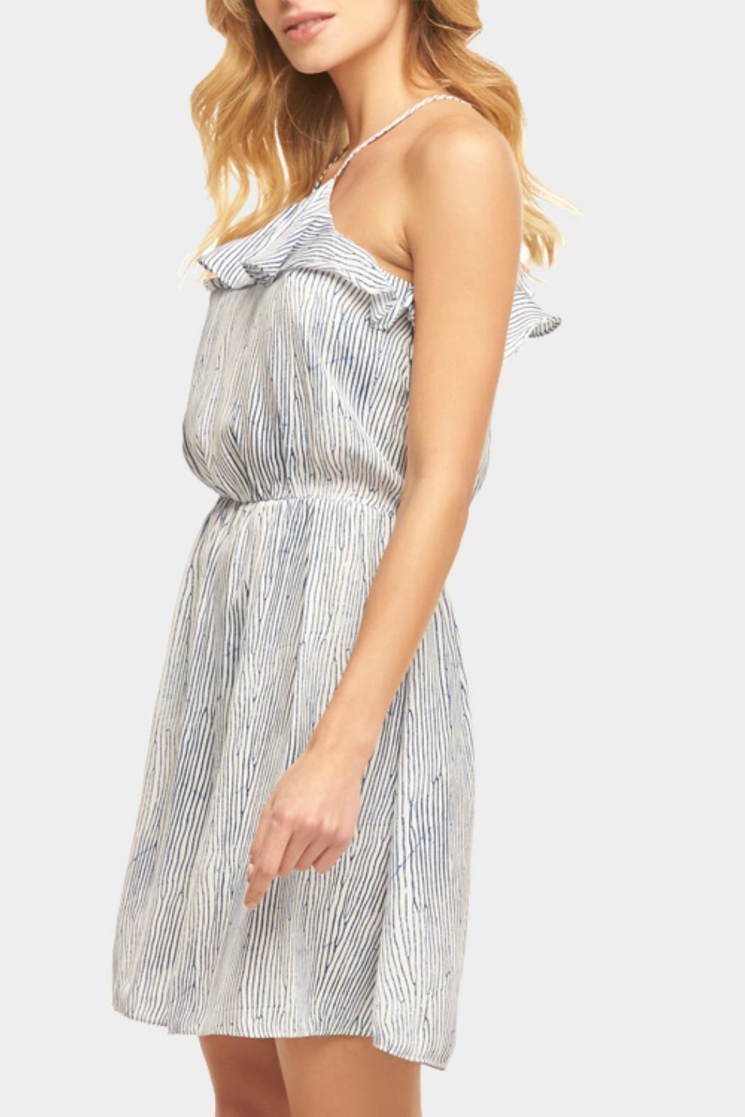 Tart Collections Ruffle Halter Dress - Front Full Image