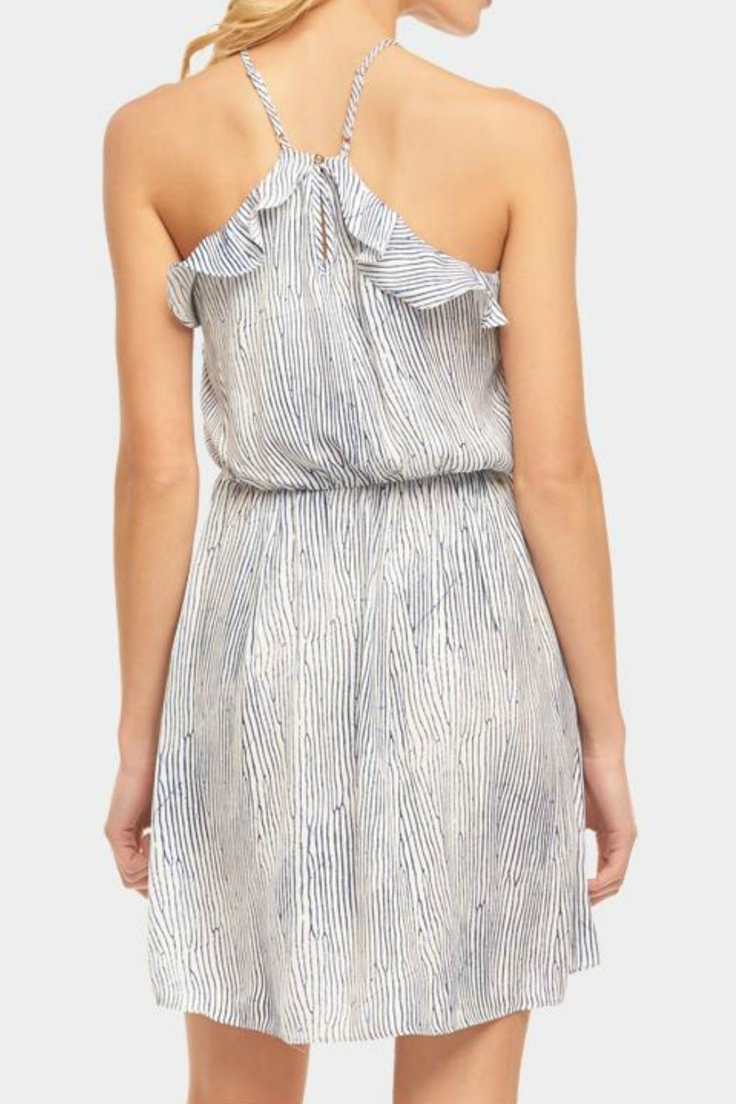 Tart Collections Ruffle Halter Dress - Side Cropped Image