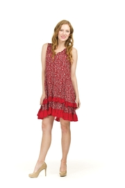 Papillon Ruffle Hem Dress - Product Mini Image