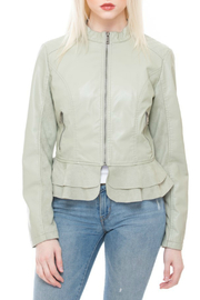 Coalition LA Ruffle hem jacket - Product Mini Image