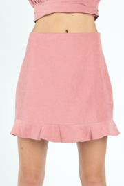 Wild Honey Ruffle Hem Skirt - Product Mini Image