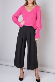 Do & Be Ruffle Hem Sweater - Side cropped