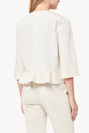 Lilla P Ruffle Jacket - Front full body