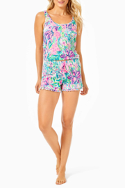 Lilly Pulitzer  Ruffle Knit PJ Shorts - Back cropped