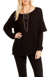 Chaser Ruffle Knit Pullover - Product Mini Image