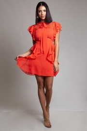 Latiste Ruffle Lace Dress - Product Mini Image