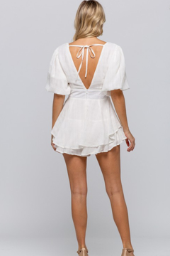 The Clothing Co Ruffle Layer Romper - Alternate List Image