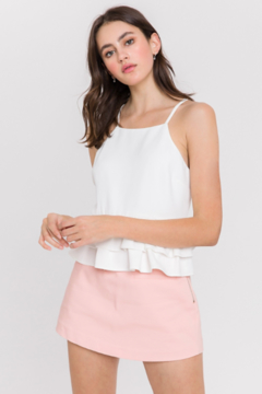 Endless Rose Ruffle Layer Tank - Product List Image