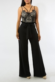 Good Time Ruffle Long Pants - Front cropped