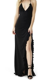 Sky Ruffle Maxi Dress - Product Mini Image