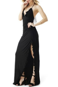 Sky Ruffle Maxi Dress - Alternate List Image