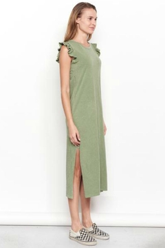 Sundry Ruffle Midi Dress - Alternate List Image