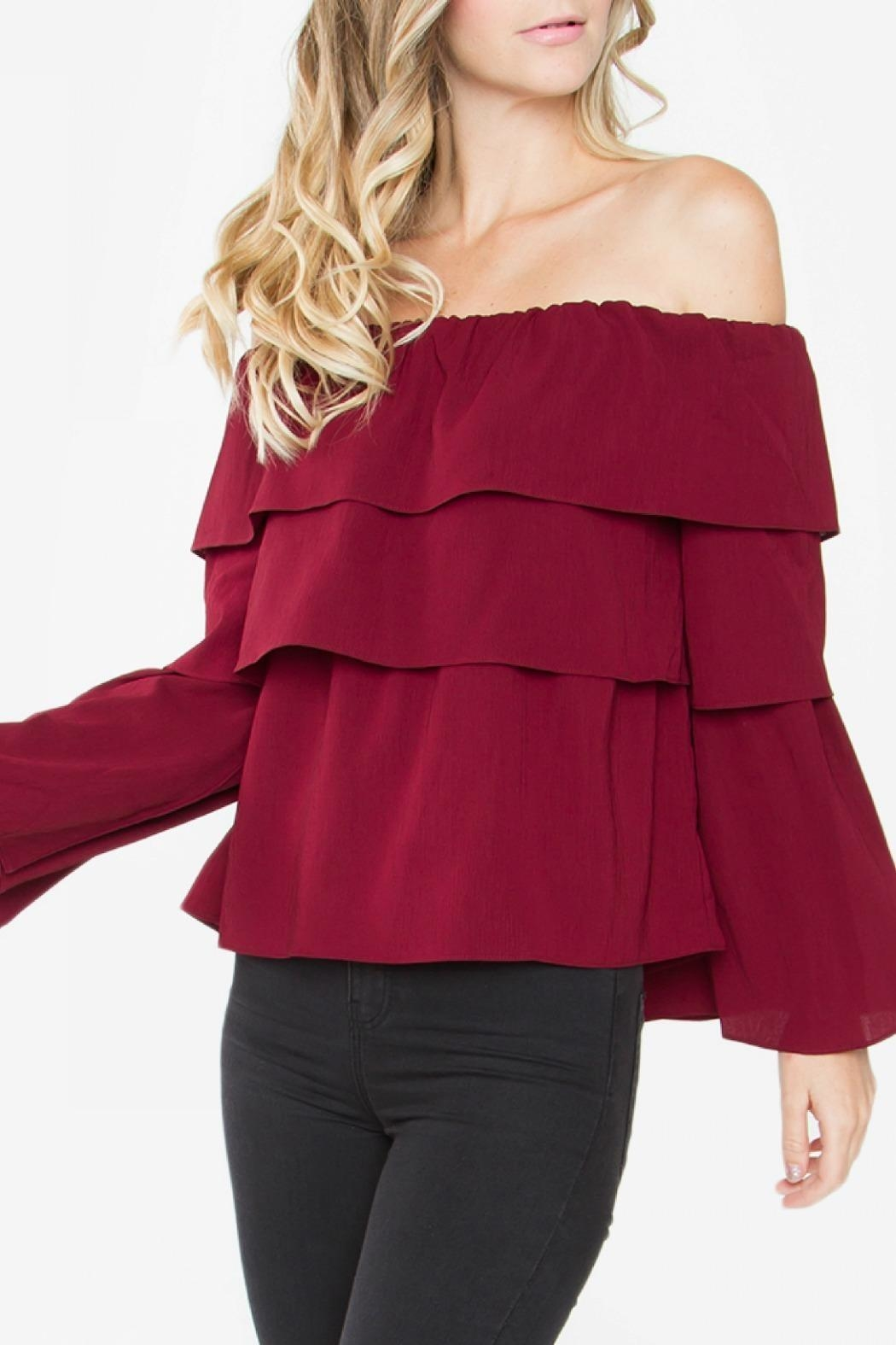 Sugarlips Ruffle Off Shoulder - Main Image