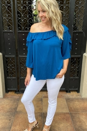 Apparel Love Ruffle off the Shoulder Top - Other