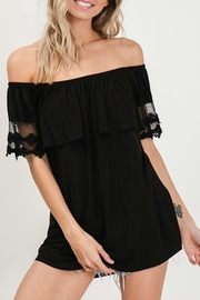 CY Fashion Ruffle Ots Tunic - Product Mini Image