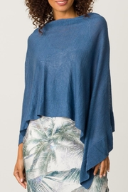 Margaret O'Leary Ruffle Poncho - Front cropped