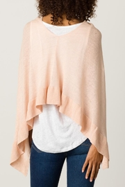 Margaret O'Leary Ruffle Poncho - Side cropped