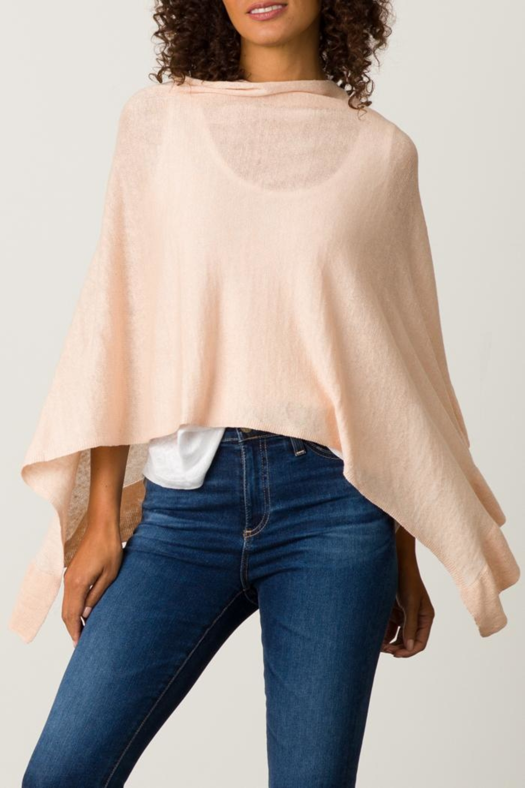 Margaret O'Leary Ruffle Poncho - Front Cropped Image