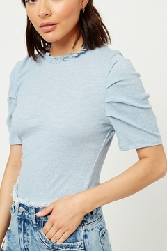 Hayden Ruffle Puff Sleeve Top - Product List Image