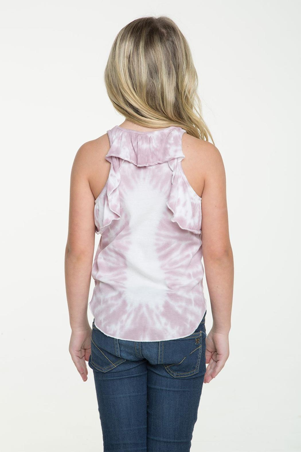 Chaser Ruffle Racerback Tank - Side Cropped Image