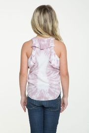 Chaser Ruffle Racerback Tank - Side cropped