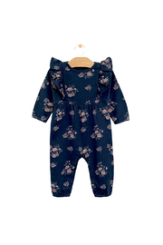 City Mouse Ruffle Romper - Night Sky Hellebore - Product Mini Image