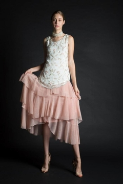beulah Ruffle Shimmer Skirt - Product List Image